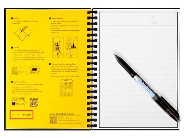 Sổ thông minh Elfinbook 2.0